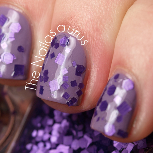JENsations Purple Rein Swatch