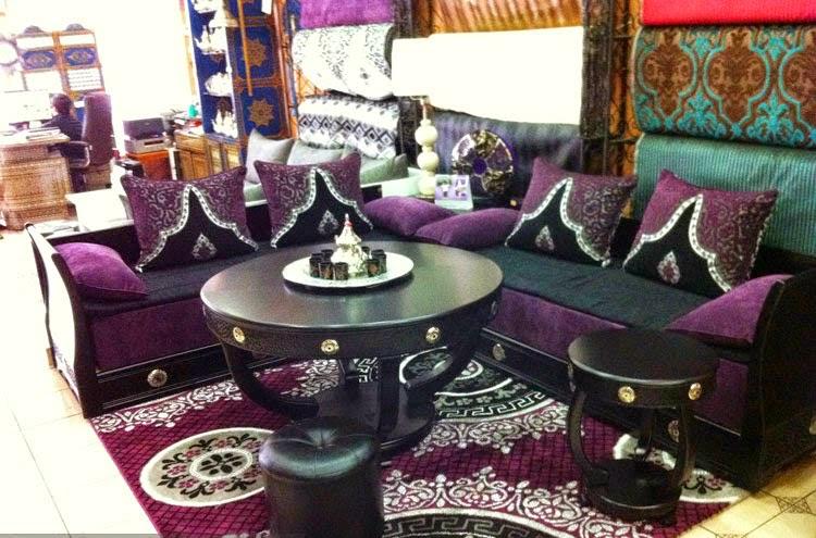 Salon Marocain mauve - Collection 2014 | Salon Marocain