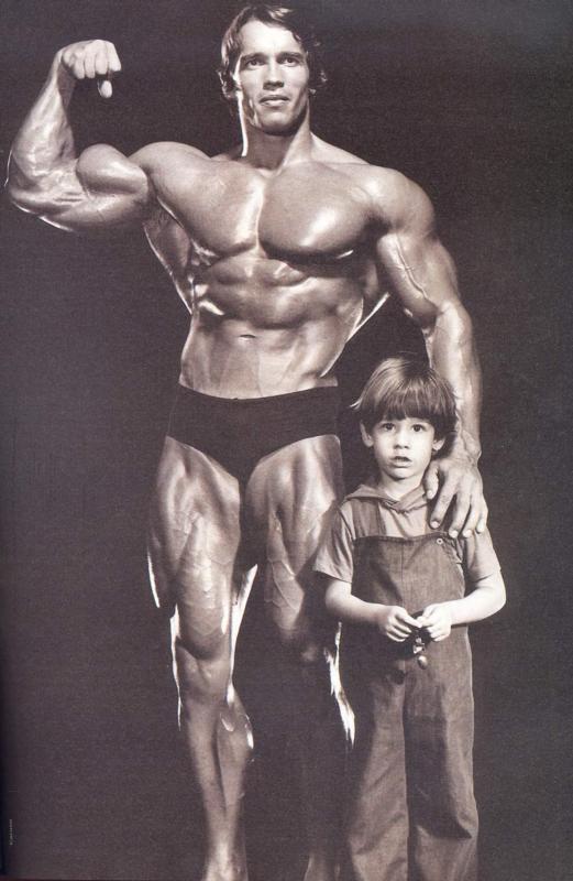 Mens Healthiness: Schwarzenegger's Incredible Arm Routine