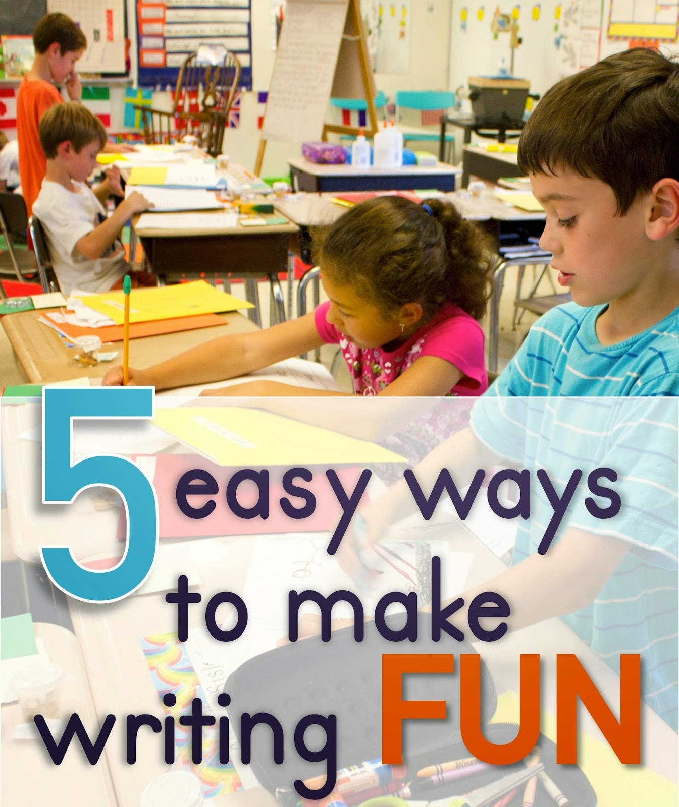 fun ways to teach essay writing
