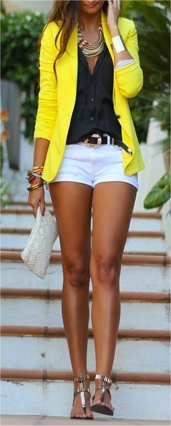 contrast fashion
