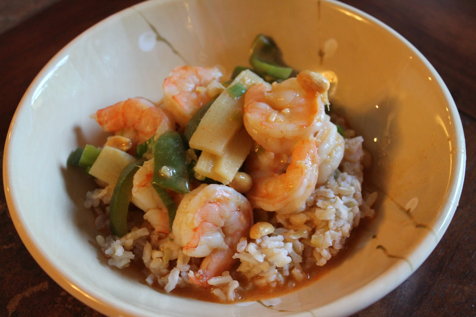 Seafood In Coconut Red Curry Recipe — Dishmaps