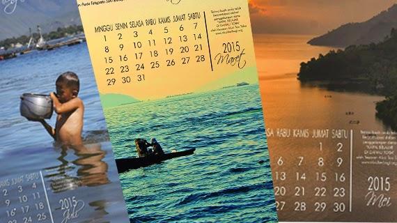 Kalender Danau Toba Penuh Cinta