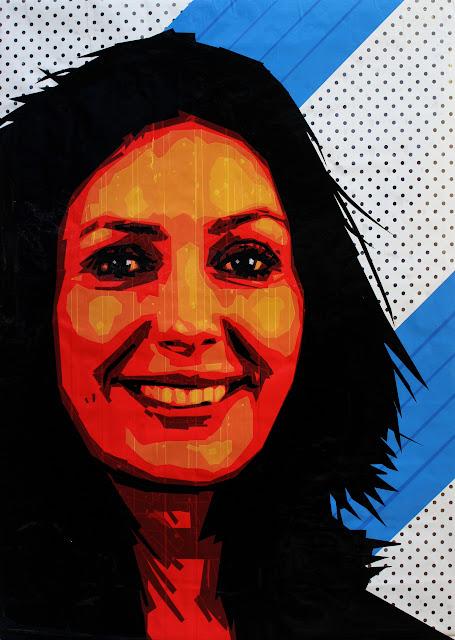 Miri Regev מרים מירי רגב   portrait artist Sonya Bronya Benigeler israeli art pop
