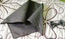 pañuelo y lazo para traje de pixueta de niña