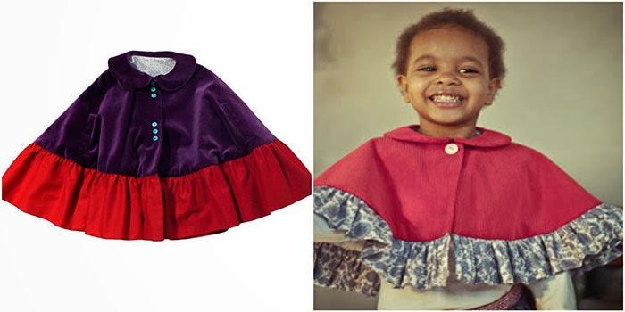 La mejores Capas handmade para niñas de la Red