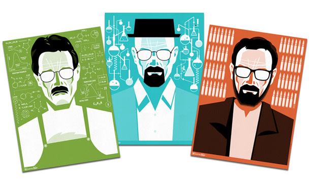 Breaking Bad | Posters minimalistas de Ty Mattson