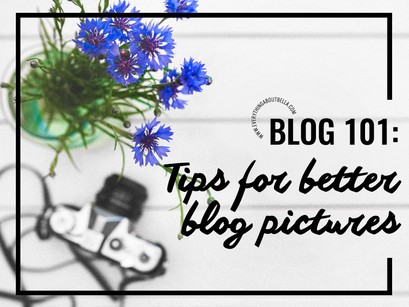 Blog 101: Tips for Better Blog Pictures