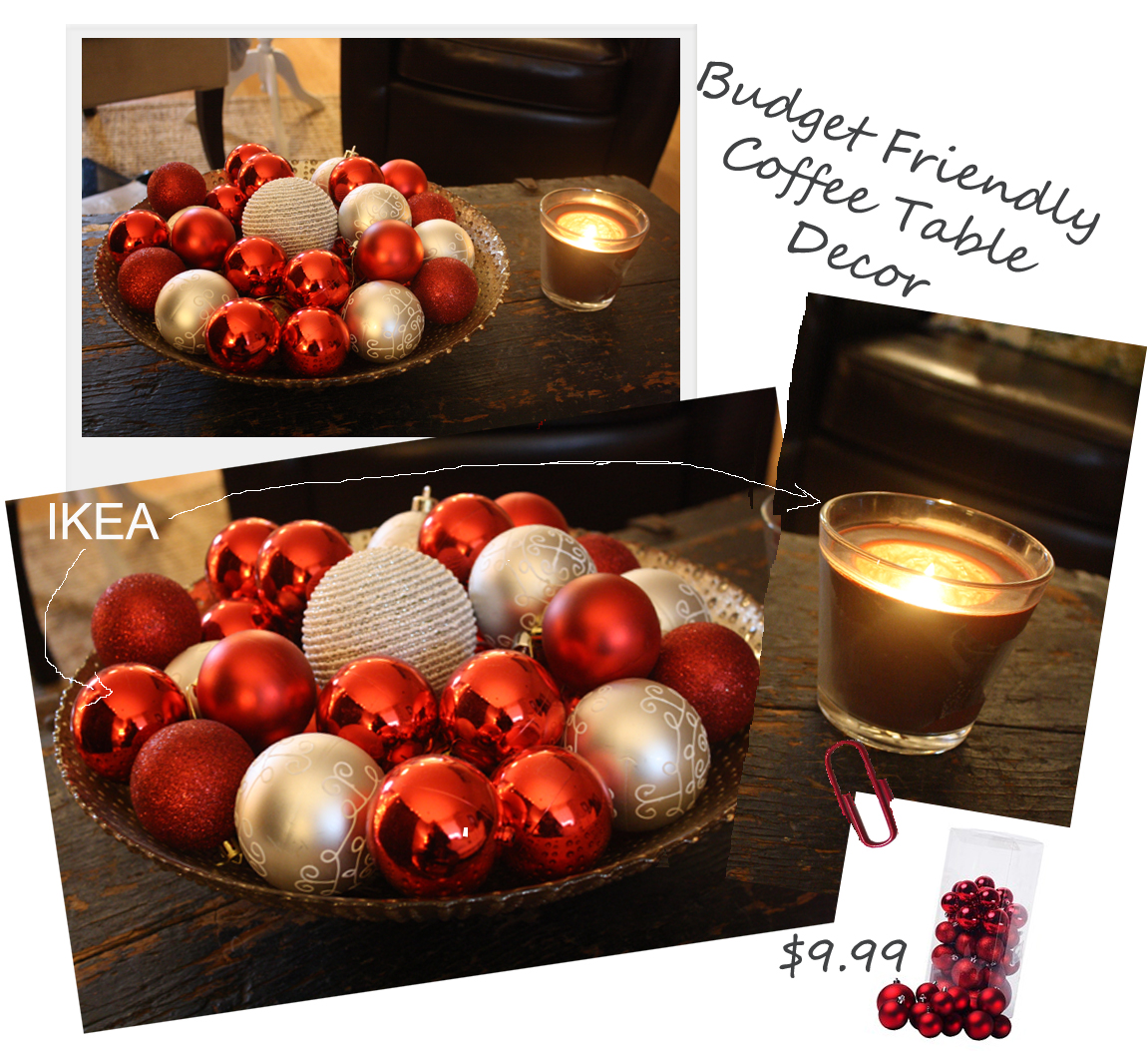 christmas coffee table decor photograph find fun seasonal