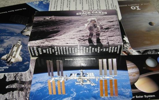 kosmiczne karty dla dzieci