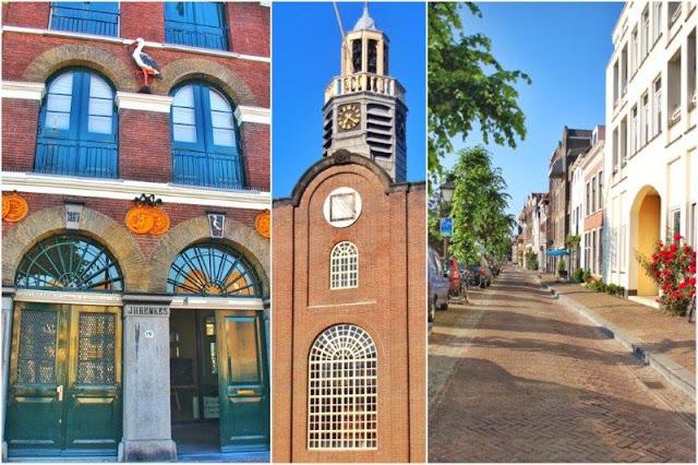 Delfshaven en Rotterdam – Destileria JH Henkes, Iglesia Oude of Pelgrimvaderskerk