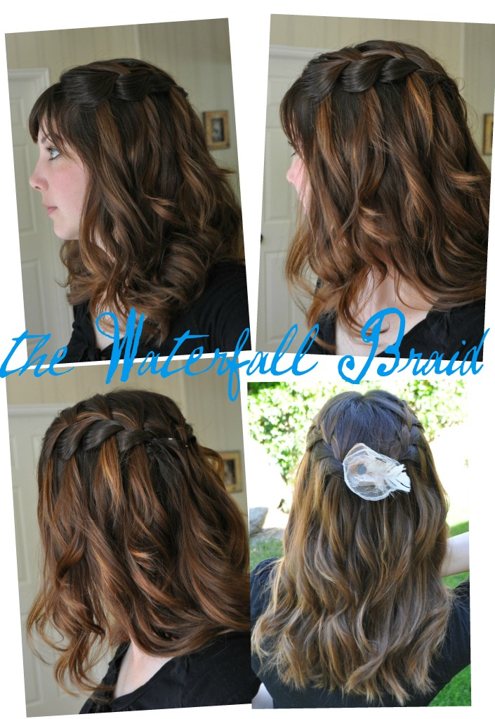 I Am Momma Hear Me Roar Waterfall Braid With Lots Of Variations