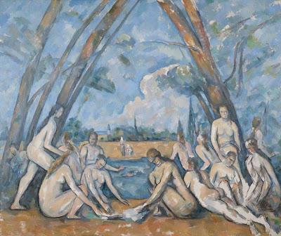 «Les Grandes Baigneuses» (1906) de Paul Cézanne (1839 – 1906).