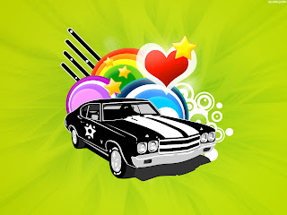 Love Vector Car Love Wallpaper