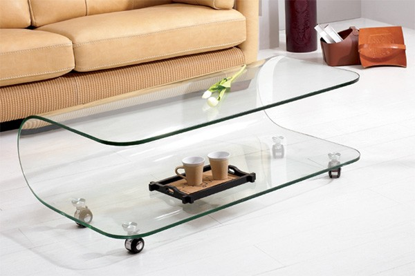 Marvelous Modern Tables and Creative Table Designs KAT Coffee Table Three glass