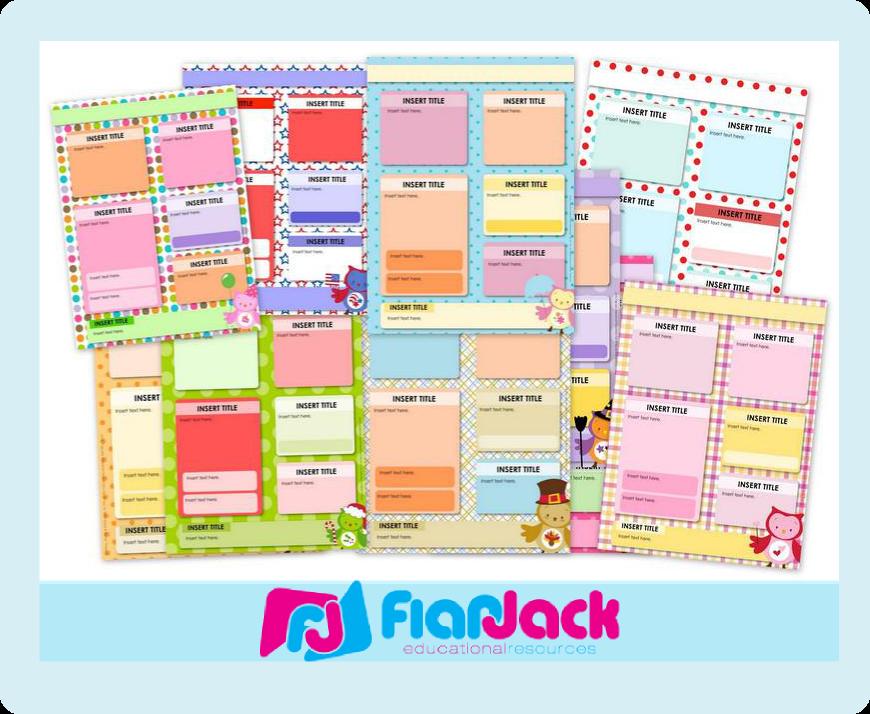 http://www.teacherspayteachers.com/Product/Seasonal-Owl-Themed-Editable-Parent-Newsletter-PowerPoint-Templates-871248