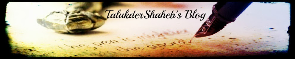 TalukderShaheb's  Blog