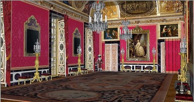 Retratos de la historia versailles interiorismo antes de for Salon versaille