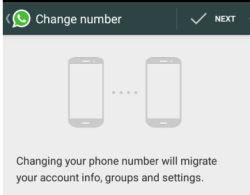 spostare dati whatsapp da vecchio a nuovo numero