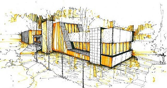 Dise o de interiores escuela de arte de motril bocetos for Grado superior interiorismo