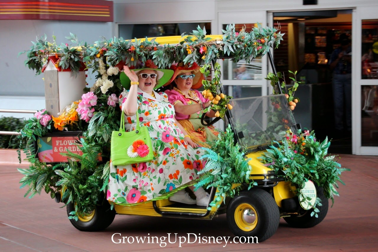 Epcot Flower and Garden Festival, festival cart