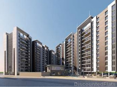 Front View of Vedant New Town Pisoli