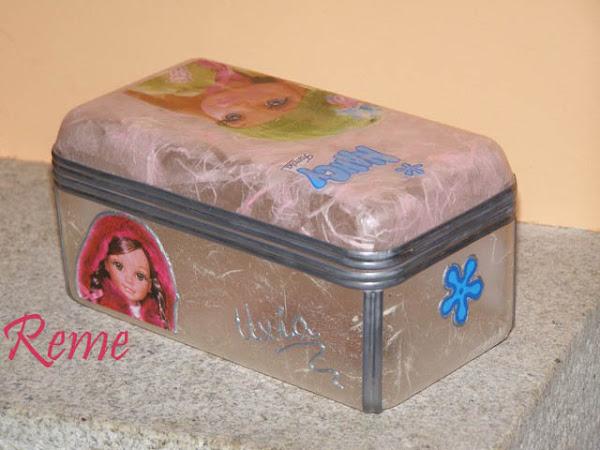 Caja de bombones aprender manualidades es - Manualidades cajas decoradas ...