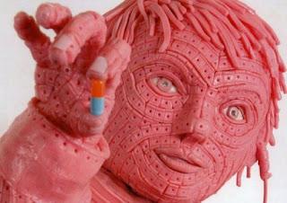 gum sculpture boy