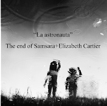 """La astronauta"" The end of samsara+Elizabeth Cartier. 2014"
