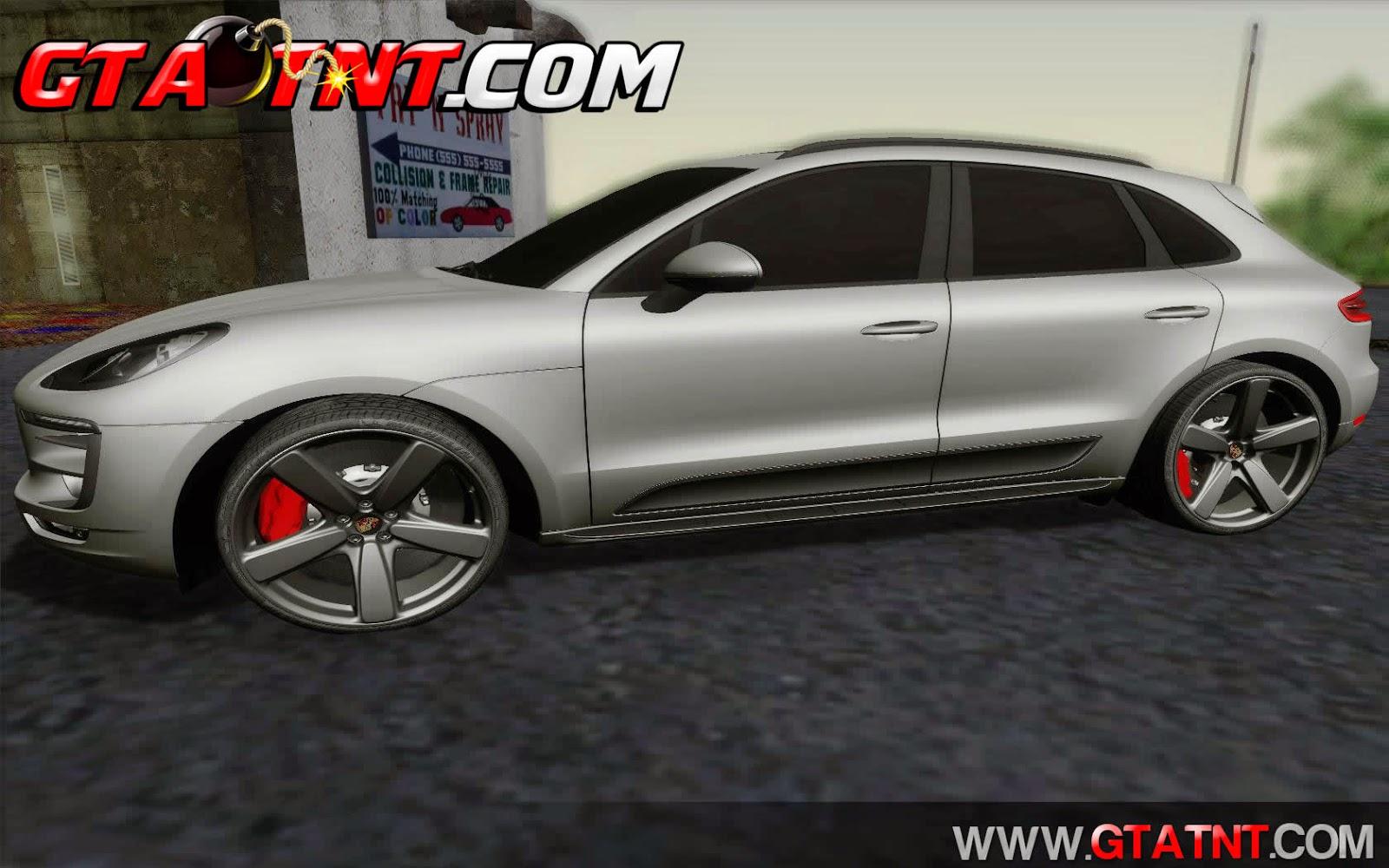 Porsche Macan para GTA San Andreas