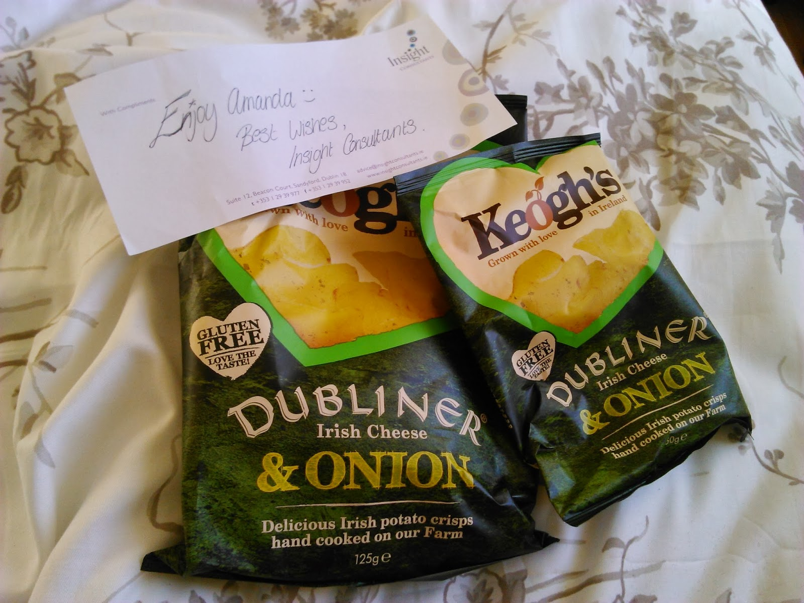 ... crisp sandwich post that here at Dublin Gluten Free we're crisp fans