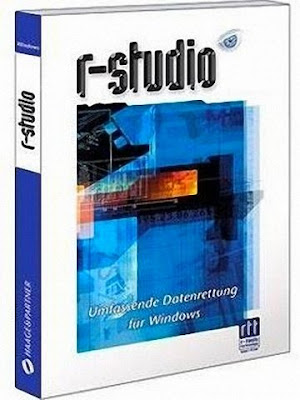 R-Studio software for hard drive data recovery