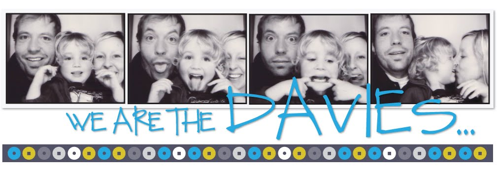 we are the davies...