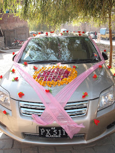 Groom's wedding car