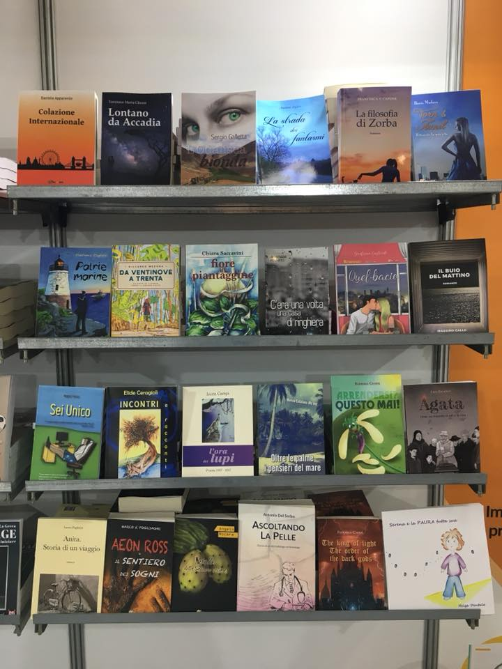 Il libro Agata al Salone Internazionale del libro di Torino 2018