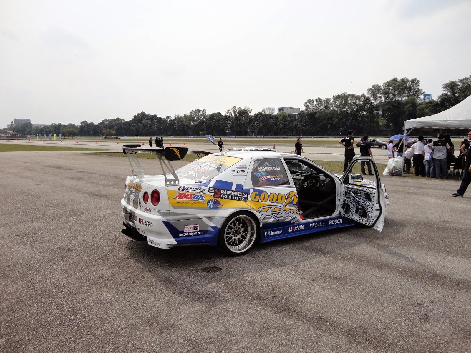 The Nissan Cefiro A31 'Skyline' mod a.k.a the R-TERTIPU