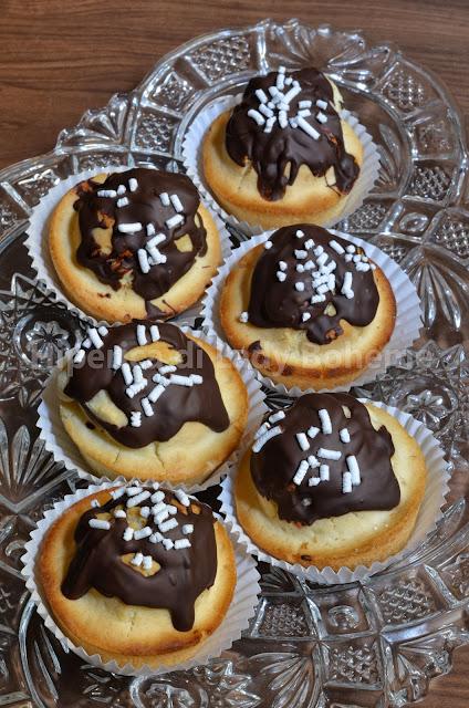 tortine con fecola e cioccolato
