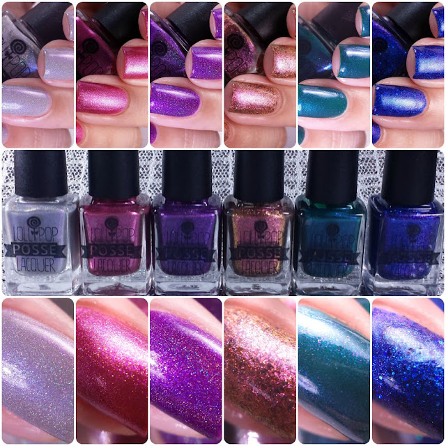 Lollipop Posse Lacquer - Full As Much Heart Collection