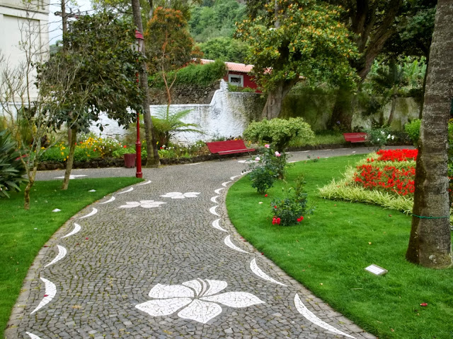Park in Terceira, Azores, Portugal, on Semi-Charmed Kind of Life