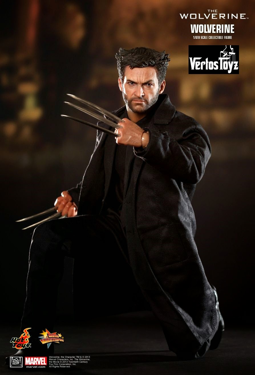 IN STOCK Hot Toys The Wolverine MMS 220 1/6 scale