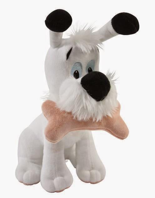 Peluche Idefix perrito de Asterix y Obelix