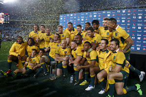 Australia campeón del Rugby Championship 2015