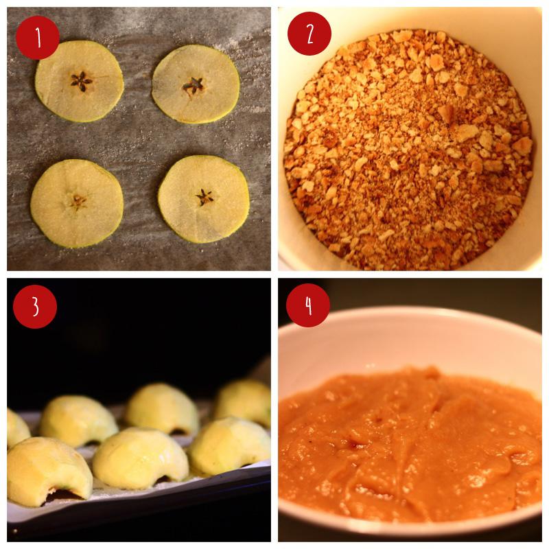 Receta compota de manzana con yogurt paso a paso