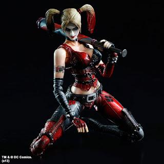 Square Enix Play Arts Arkham City Harley Quinn figure
