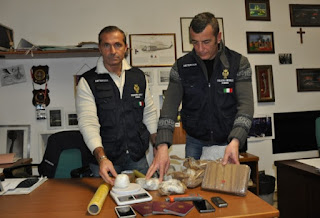 Two Albanians arrested in RImini,1.6 kg of cocaine seized