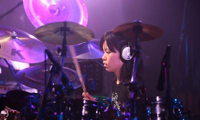 drummer from Japan Senri Kawaguchi
