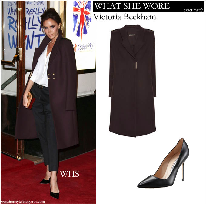 4b836f3f8a WHO  Victoria Beckham attended the press night of the new Spice Girls  musical Viva Forever on December 11th 2012 in London