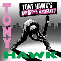 Portada del single Tony Hawk's American Wasteland (2005)