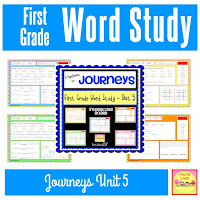 Journeys Word Study Unit 5