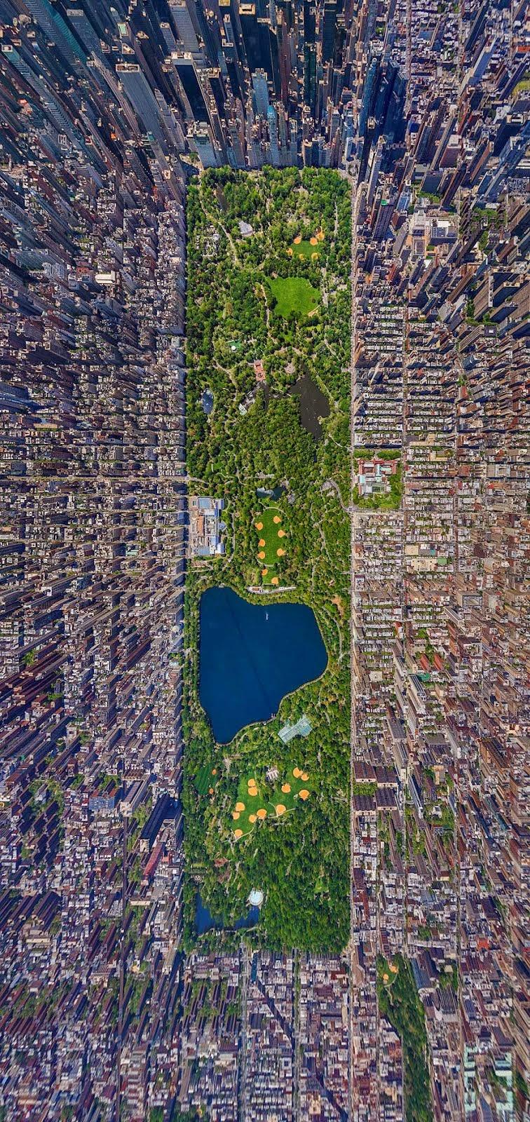 El Parque Central de la ciudad de Nueva York